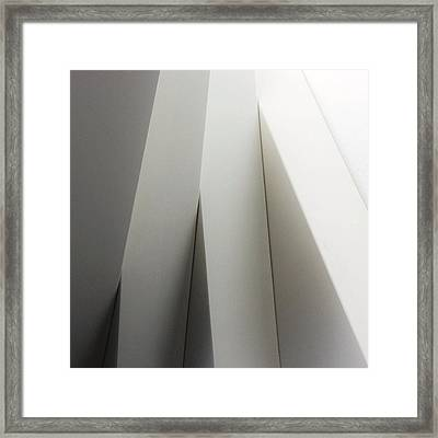Architectural Detail Of Wall Framed Print by David Crunelle / Eyeem
