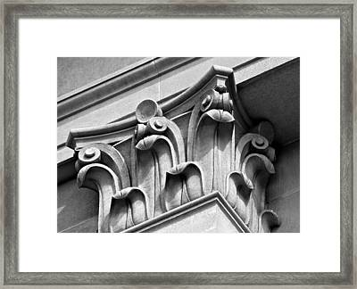 Architectural Elements Framed Print