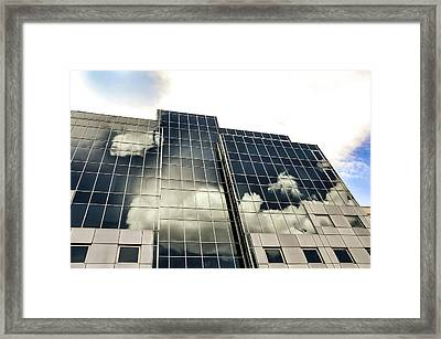 Architectural Image Screen Framed Print by Howard Pugh (marais)