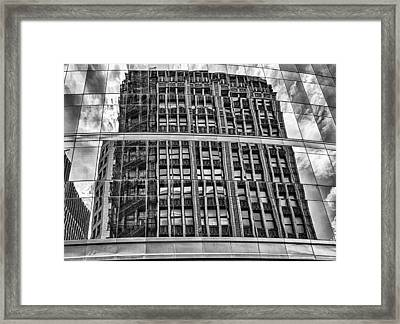 Architectural Reflection 2 Framed Print by Robert  FERD Frank