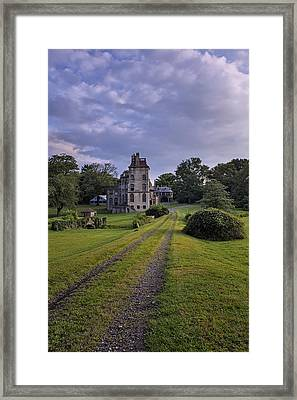 Architectural Treasure Framed Print by Susan Candelario