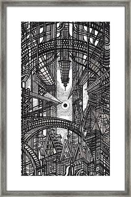 Architectural Utopia 13 Fragment Framed Print