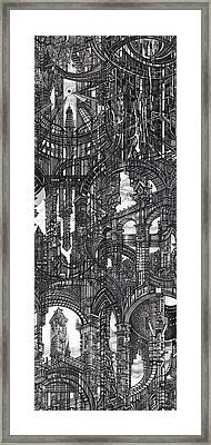 Architectural Utopia 17 Fragment Framed Print