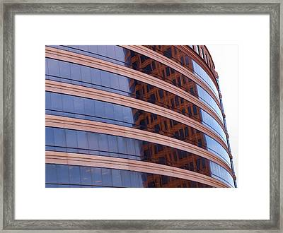 Architecture 1 Framed Print by Tom Druin