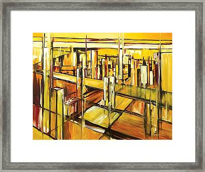 Architecture Framed Print by Ahmed Amir