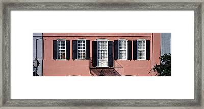 Architecture Charleston Sc Framed Print by Panoramic Images