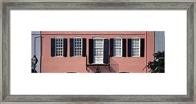 Architecture Charleston Sc Framed Print