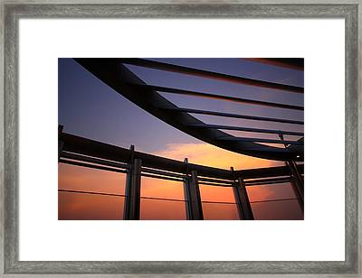 Architecture In The Sky Framed Print