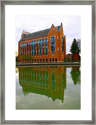 Architecture Framed Print by Jerry Cahill