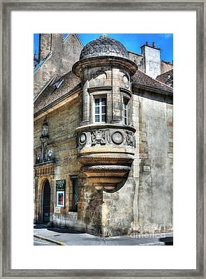Architecture Of Dijon Framed Print