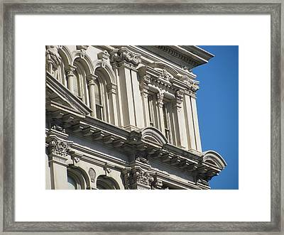 Architecture Ornate Michell Close Up 3 Framed Print