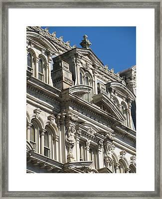 Architecture Ornate Mitchell Close Up 1 Framed Print