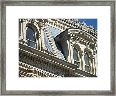 Architecture Ornate Mitchell Close Up 2 Framed Print