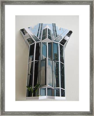 Architecture Resconstruction Framed Print by Alfred Ng
