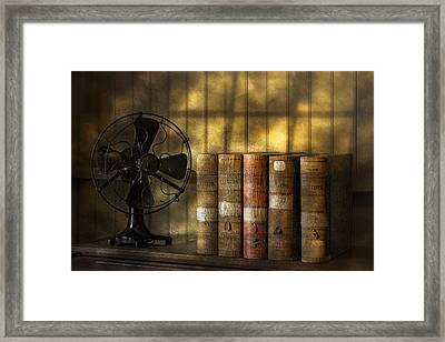 Archives Framed Print by Susan Candelario