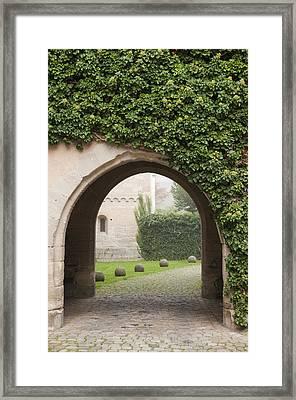 Archway Bebenhausen Abbey Framed Print