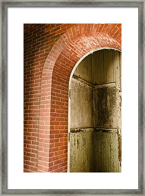 Eastern State Penitentiary Archway Framed Print