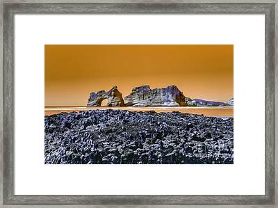 Archway Island Framed Print