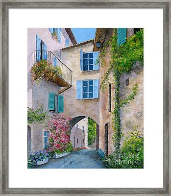 Archway Framed Print