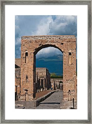 Archway Framed Print by Marion Galt