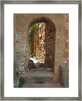 Archway Framed Print by Pema Hou