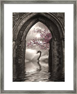 Archway To Heaven Framed Print by Sharon Lisa Clarke