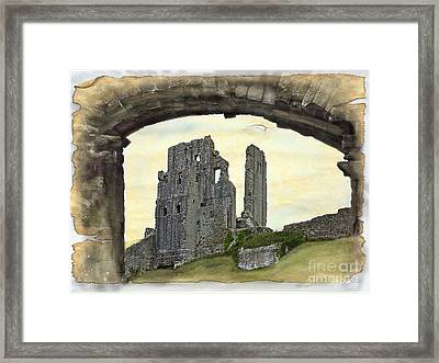 Archway To History Framed Print