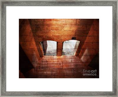 Archway To Light Framed Print