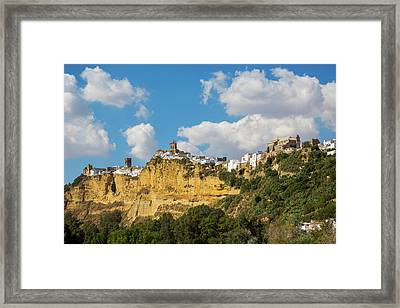 Arcos De La Frontera, Cadiz Province Framed Print