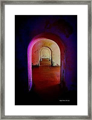 Arcos Framed Print