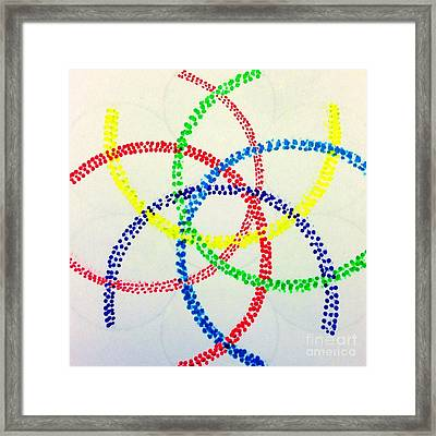Arcs Framed Print by Rrrose Pix