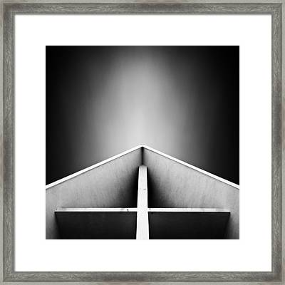 Arctic Cathedral Framed Print by Dave Bowman