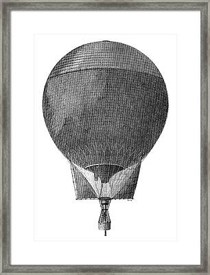 Arctic Expedition 'eagle' Balloon Framed Print by Science Photo Library