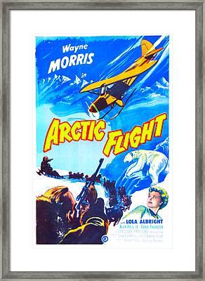 Arctic Flight, Us Poster, From Left Framed Print by Everett