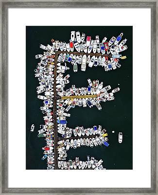 Arctic Jetty Framed Print