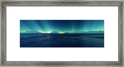 Arctic Lights Framed Print