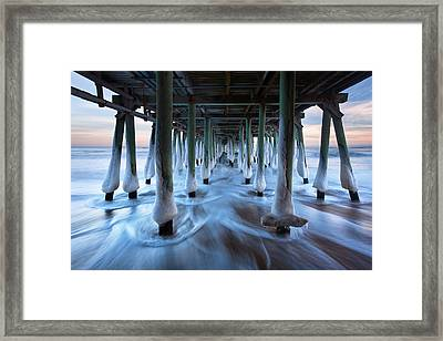 Arctic Rush Framed Print by Eric Gendron