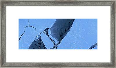Arctic Sea Ice Framed Print by Digital Mapping System/nasa Ames