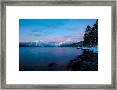Arctic Slumber Framed Print by Aaron Aldrich