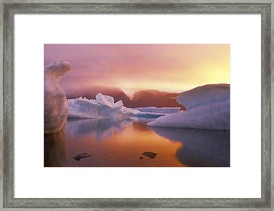 Arctic Splendour Framed Print by Ralph Brunner