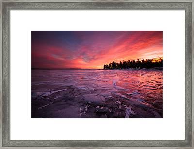 Arctic Sunrise Framed Print