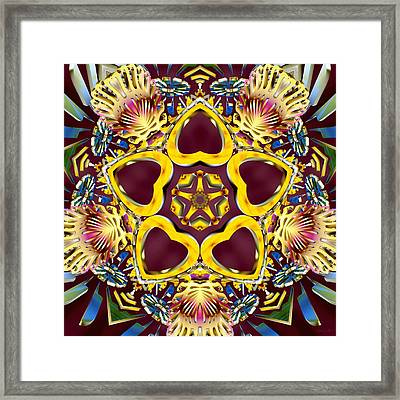 Arcturian Starseed Framed Print