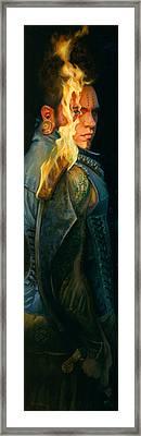 Ardens Framed Print by Rose Adare