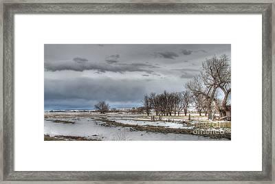 Framed Print featuring the photograph Ardmore Prairie by Bill Gabbert