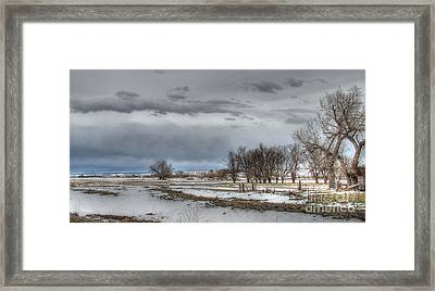 Ardmore Prairie Framed Print by Bill Gabbert