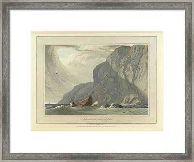 Ardnamurchan Point In Argyllshire Framed Print by British Library