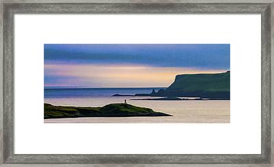 Ardtreck Point Lighthouse Framed Print