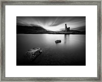 Ardvreck Castle 1 Framed Print by Dave Bowman