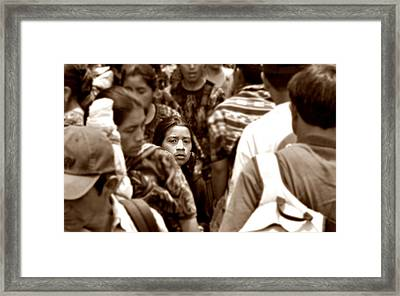 Are They All So Blind To The Truth Framed Print