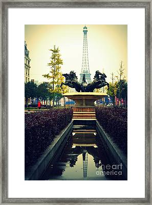 Are We In Paris Framed Print